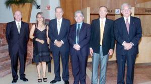Salvador Jalife, Ilse Aguilera, Ramón Iriarte, Jesús Campos, Armando Martín y Albertop González Domene.