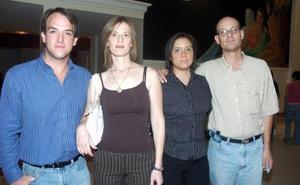 Samuel Ibargüengoitia, Saida Peña, Laura Ceballos, Michel Peña.