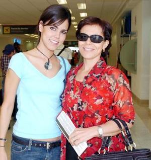 Alejandra Celayo y Rosana Gutiérrez viajaron a Puerto Vallarta.