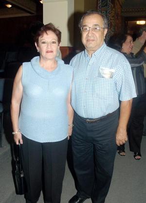 José González y María Isabel de González