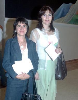 Leticia García Valdés y Goergina Salazar.