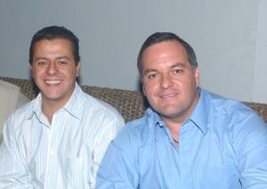 Antonio Juan Marcos y Jaime Russek.