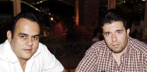 Carlos Humberto Thome y Jorge Rivera Mendoza.
