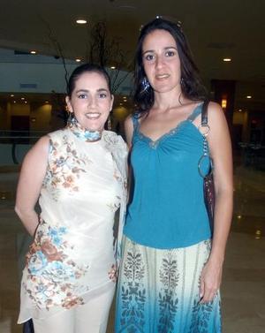 Marcela Pruneda y Susana Beltrán del Río.