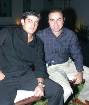 Yussef Mansur y José Mansur.