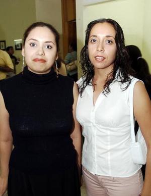 Alma Rocío Carrillo y Daniela Martínez.