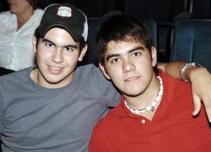 Andrés Fernández y Miguel Murra.