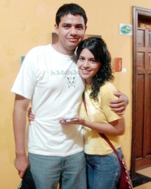 Blanca Jáuregui y Rodrigo Díaz.