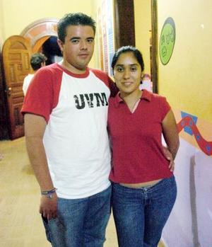 Claudia Jiménez y Sergio Ceballos.