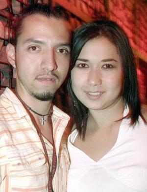 Gustavo Borreal y Rocío Guzmán.