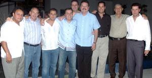 Enrique Humphrey, Carlos San Miguel, Jorge Bujdud,Jorge González, Roberto Kuri González, Antonio Kuri Jr., y Alejandro Sánchez.