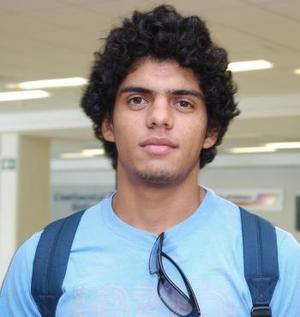 Mario Macías, llegó a Torreón procedente de Perú.