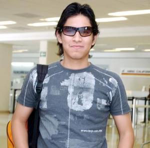 José Carlos Torres, arribó a La Laguna, procedente de Las Vegas.