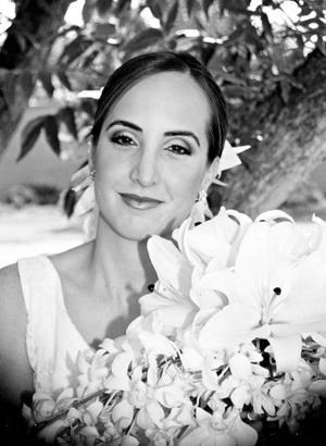 Srita. Angélica Ortiz Cano unió su vida a la del Sr. Jorge Jiménez Berumen.