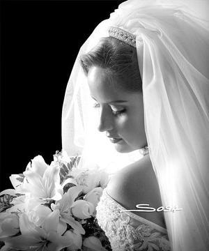 Srita. Vanessa Pérez Villezca, el día de su enlace matrimonial con el Sr. Marcos Oliva González.