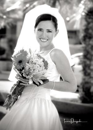 Srita. Irma Iveth Serna Peña , el día de su boda con el Sr. Rafael Serna Campos.
