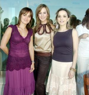 Rocío Cabranes, Marusa Martínez y Ale de Mijares.