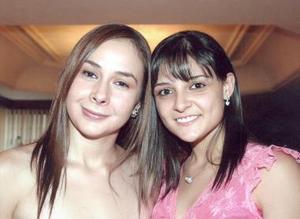 Sonia Mansur y Lorena Ávila del Moral.