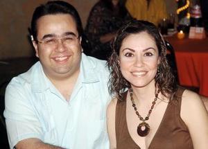 Octavio y Jéssica González.