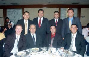 Gabriel  Calvillo, Daniel Amarante, Jaime Díaz de León, Gabriel Viesca, Eduardo Cepeda, Enrique Silveyra, Ziad Giacomán y Ricardo Hamdan.