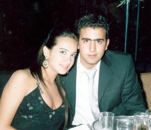 Leila Zarzar y Eduardo Faccuseh.