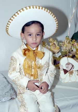 El pequeño Antonio Farrel Pargas celebró su tercer cumpleaños.
