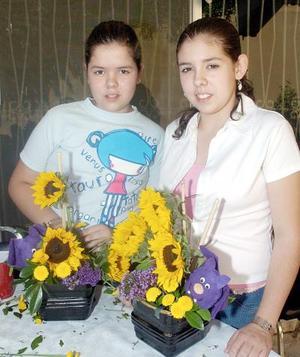 María y Alejandra González.