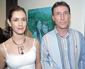 Diego Berlanga y Lucero Galindo..