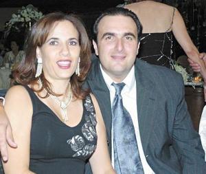 George y Cristina Khawly.