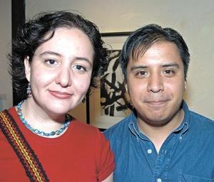 Patricia Hernández y Miguel Canseco.