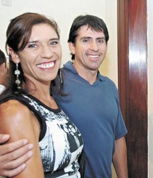 Rafael Villarreal y Angélica de Villarrea