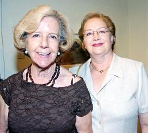 Rosita Gámez Reyes  Retana y Querube Lizárraga de Molina