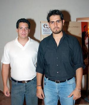 Carlos de M. y Guillermo Saad..