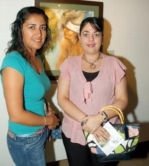 Érika de Hoyos y Karina de Diéguez