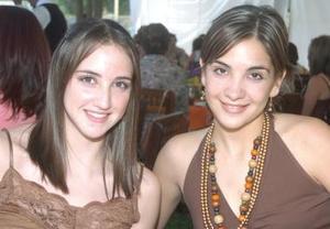 Julieta Sánchez y Lorena Anaya..