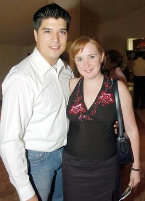 Brenda Noyola y David González.