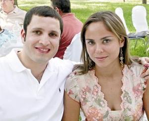 Federico Sánchez e Ileana Villa