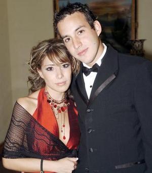 Pamela Rodríguez de Gallegos y Carlos Gallegos
