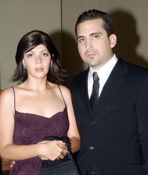 Roxana Montañez y Gilberto Rueda