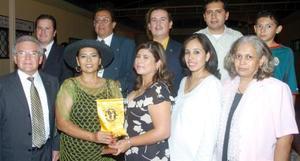 Luis Enrique Burciaga, José Luis Pérez, Jesús Jorge, Piero Orozco, Lorenzo de Lira, Laura Gómez, Juana María González, María Guadalupe Armendáriz y Fátima Chacón