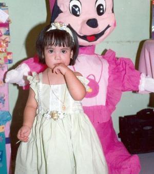 Gabriela Venegas Chávez celebró sus dos años de vida con una divertida fiesta.