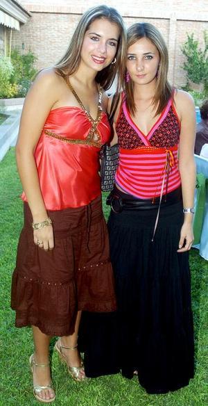 Anabel Allegre y Marcela Albéniz.