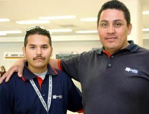 Ever Esparza y Luis Soriano llegaron a Torreón, procedentes de Houston, Texas.