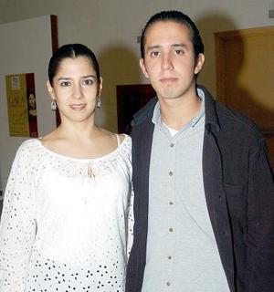 Lucía de Campos y Carlos Alberto Ortega.