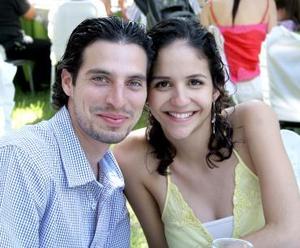 Toño Fahur y Paola Mexsen.