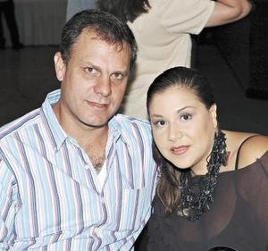David Murra y Lizeth Safa.