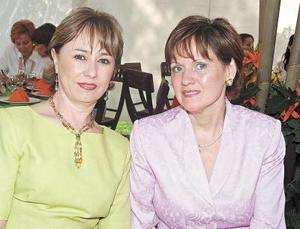 Gaby de García y Margarita de Rivera.