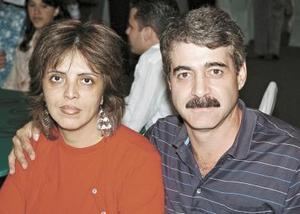 Norma de Ordaz y Héctor Ordaz Sabag.