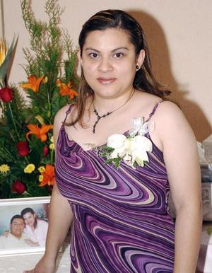 Cecilia Moreno Alonzo contraerá matrimonio el próximo sábado, con Gerardo Gutiérrez Pereyra.