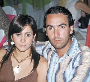 Mariana Michel y Federico Perabeles.